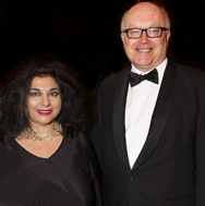 Maria Vandamme and The Hon. George Brandis QC